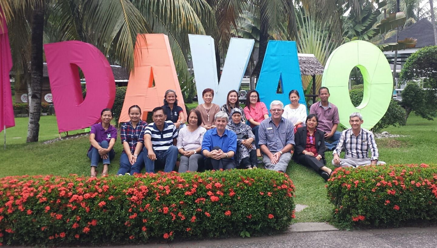 ACIAR team photo at the final meeting of the Mango Integrated Crop Management in the Philippines & Australia project.